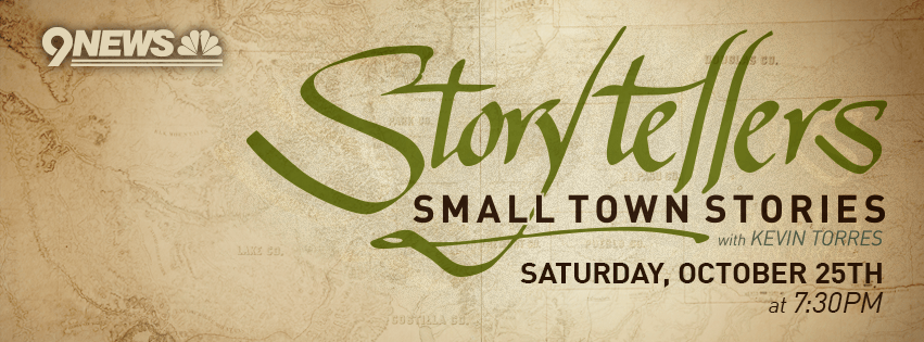 9News Storytellers Small Town Stories banner