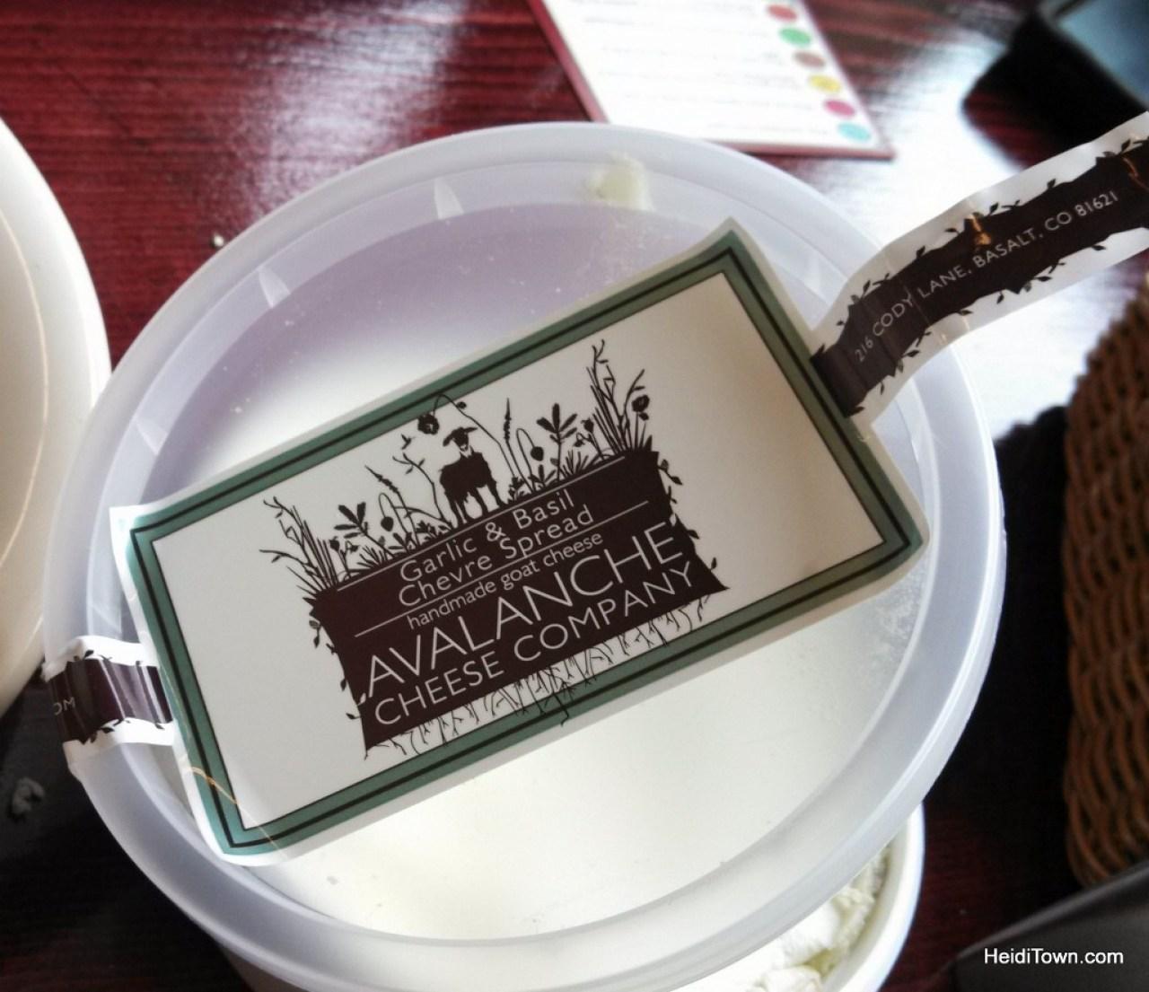 Avalanche cheese Colorado. HeidiTown.com