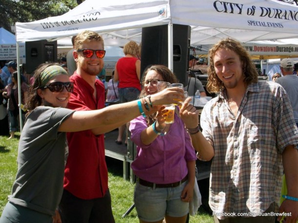 Colorado beer festivals not to miss. San Juan Brewfest, Durango. HeidiTown.com