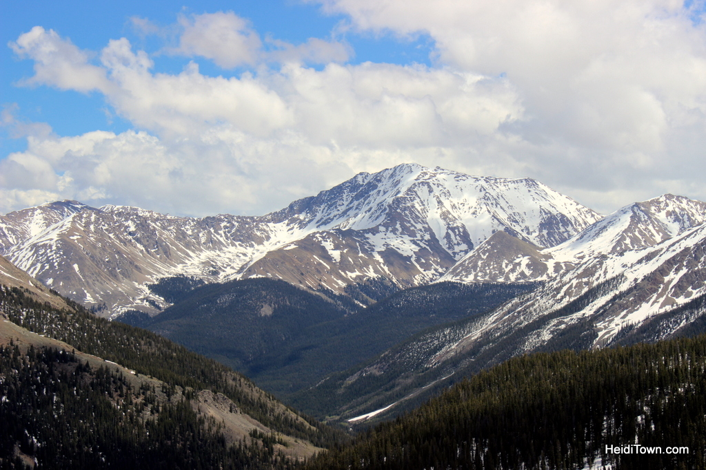 Independence Pass, Colorado. Scenic byway. Summer road trip tips - Colorado. HeidiTown.com