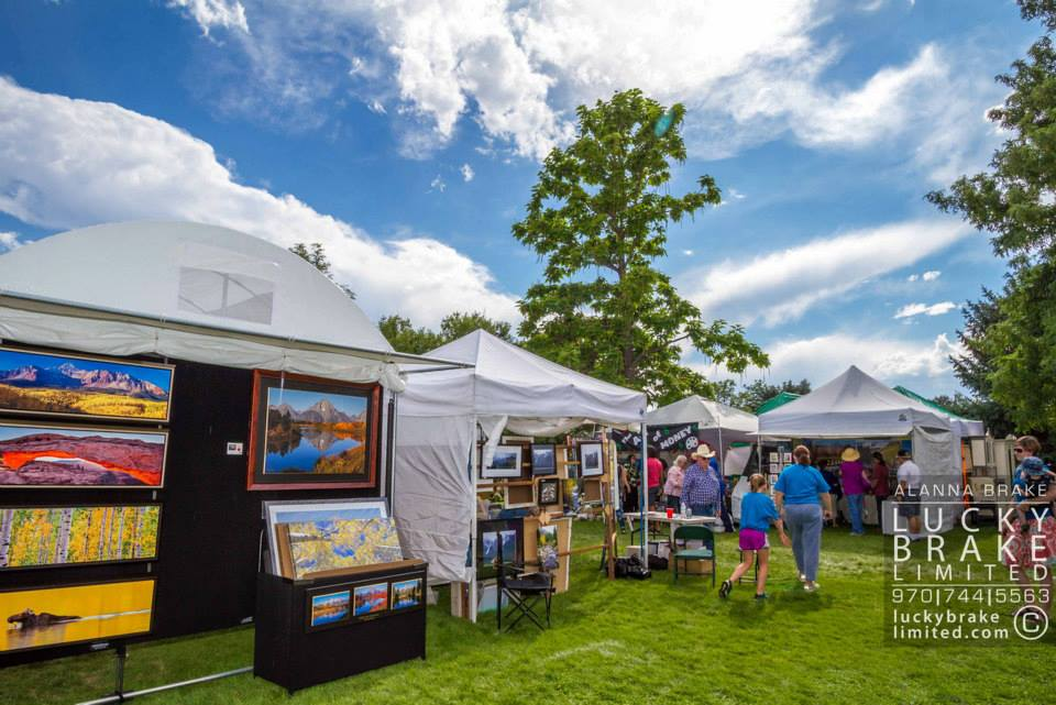 Art in the Park 2013, photo by Lucky Brake Ltd. HeidiTown.com