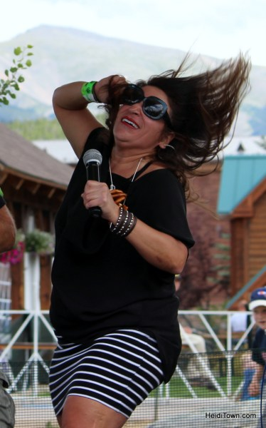 karaoke stage at Winter Park Beer Festival. HeidiTown.com
