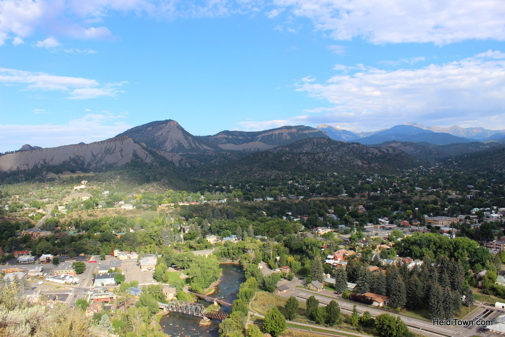 Durango from Fort Lewis College. Highlights from a weekend in Durango. HeidiTown (2)