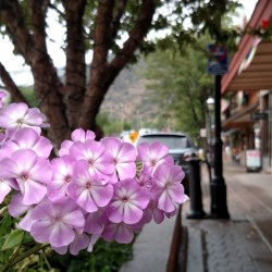 Iron Mountain Hot Springs. Downtown Glenwood Springs in late summer. HeidiTown.com