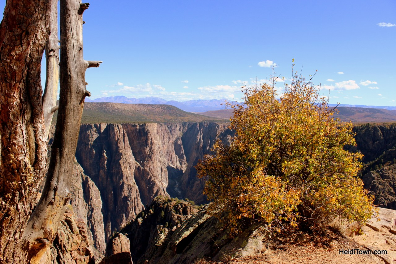 Hiking at Black Canyon of the Gunnison National Park. HeidiTown (3)