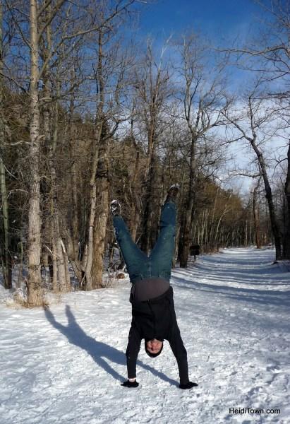Estes Park, Colorado, for adult getaways too. Winter at Rocky Mountain National Park. HeidiTown.com