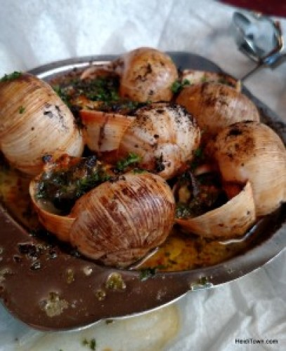 Top 10 HeidiTown Highlights of 2015. The best escargo I ever ate at The French Bistro in Craig, Colorado.