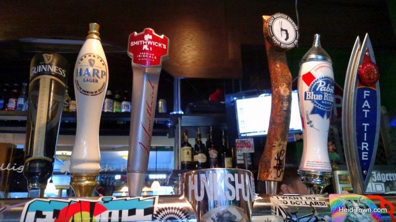 Mulligans Irish Pub at Copper Mountain. HeidiTown.com