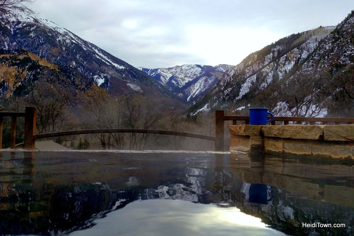 A morning soak. Experience the magic of Avalanche Ranch. HeidiTown.com