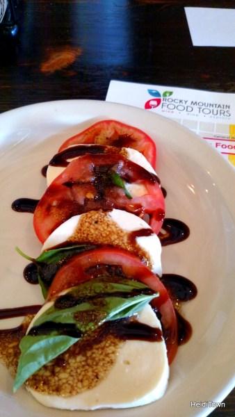 Rocky Mountain Food Tours, Delicious Downtown tour. Bambino's Urban Pizza HeidiTown.com