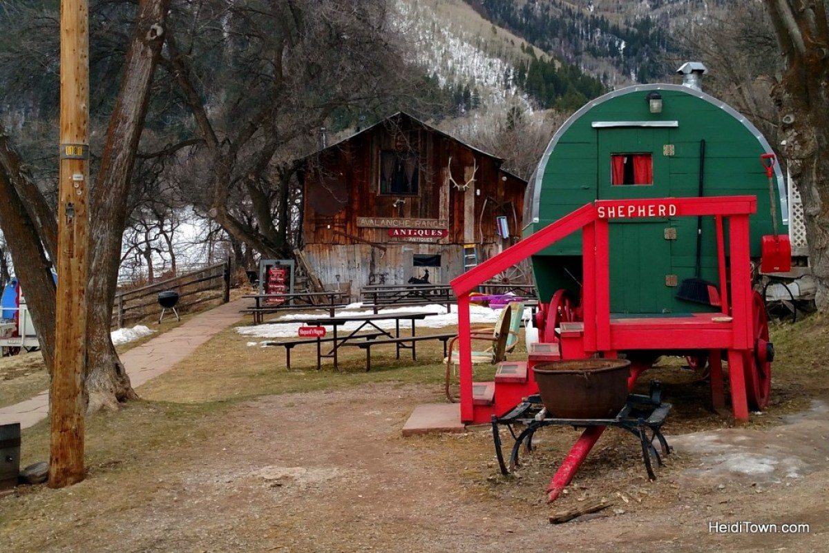 The Shepherd wagon. Experience the Magic at Avalanche Ranch. HeidiTown.com