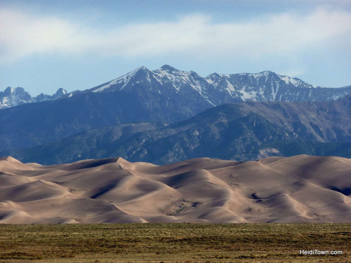 Find Your Park Colorado's National Parks. Great Sand Dunes National Park. dunes shot. HeidiTown.com