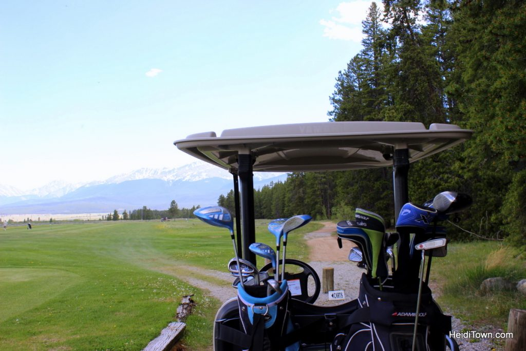 Going back to golf. Mount Massive Golf Course, Leadville, Colorado. HeidiTown.com