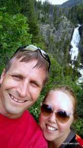 Steamboat Summer Boat List Challenge. Snap a photo at Fish Creek Falls. HeidiTown.com