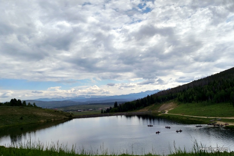 A Snow Mountain Ranch Summer to-do list. Gaylord Reservoir. HeidiTown.com