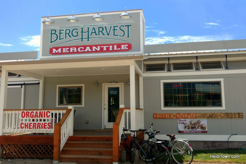 Bike farm tour in the North Fork Valley. Berg Harvest. HeidiTown.com