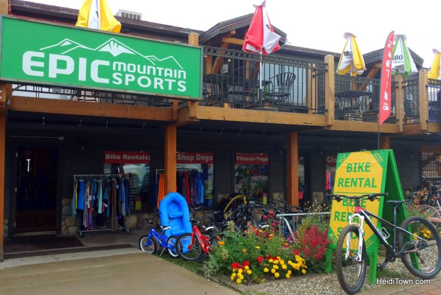 Making new traditions in the familiar town of Winter Park. Epic Mountain Sports. HeidiTown.com