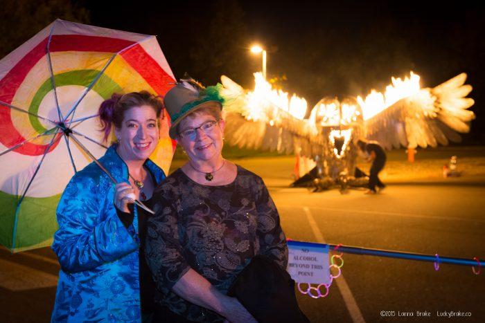 Featured Festival NoCo Mini Maker Faire Sparks & Spirits fire art