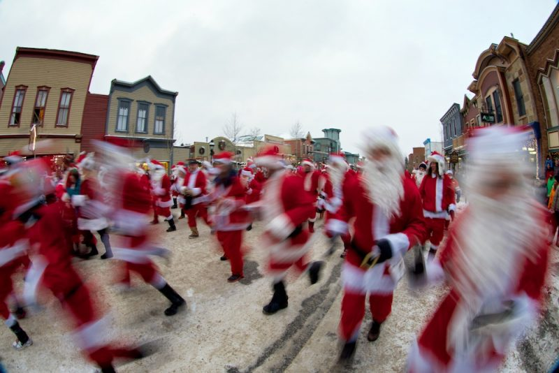 Race of the Santas, Breckenridge