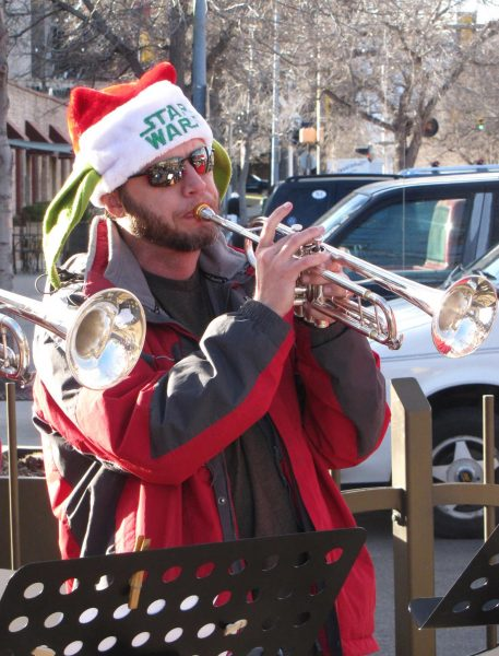 Trumpets for Christmas, Photo by Kip Scholl