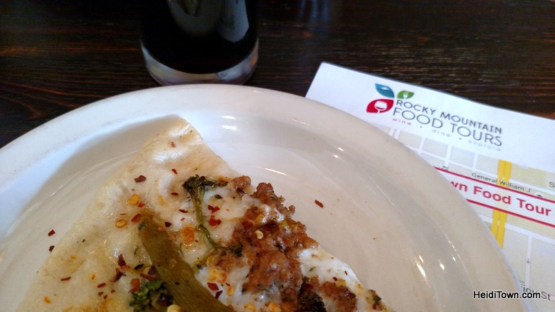 Best of HeidiTown, Rocky Mountain Food Tours, pizza.
