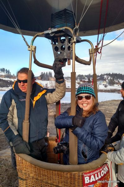 A Hot Air Balloon Ride in Pagosa Springs, Colorado with the Dickey Brothers. HeidiTown.com 2