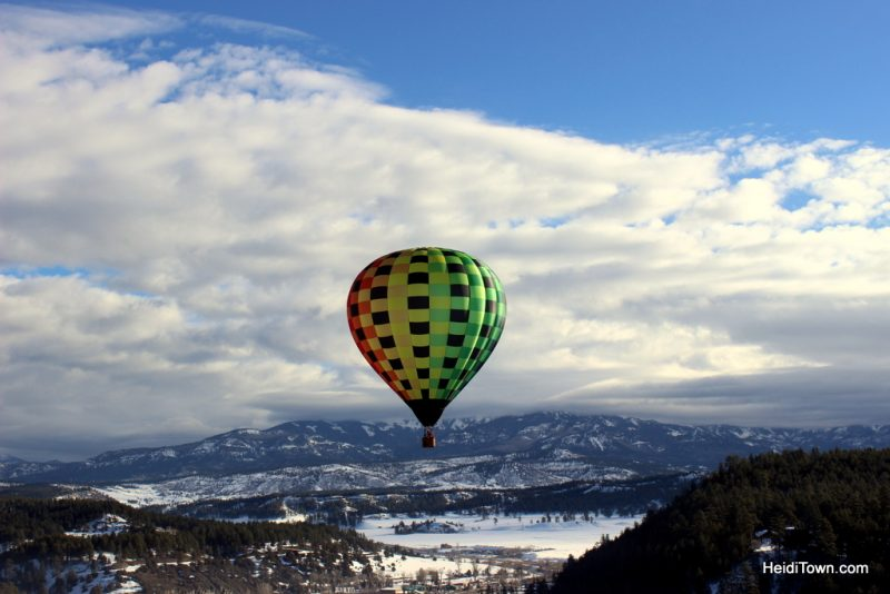 A Hot Air Balloon Ride in Pagosa Springs, Colorado with the Dickey Brothers. HeidiTown.com 6