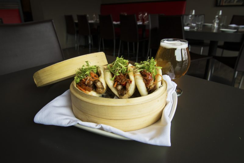 When Visiting Aspen, Colorado, Eat All the Things, Steamed Pork Buns, BB's Aspen. HeidiTown.com