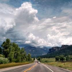 Road Trip Planning 101. US 160 near Pagosa Springs, Colorado. HeidiTown.com