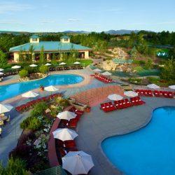 Staycation at Omni Interlocken, Broomfield, Colorado, pool overview