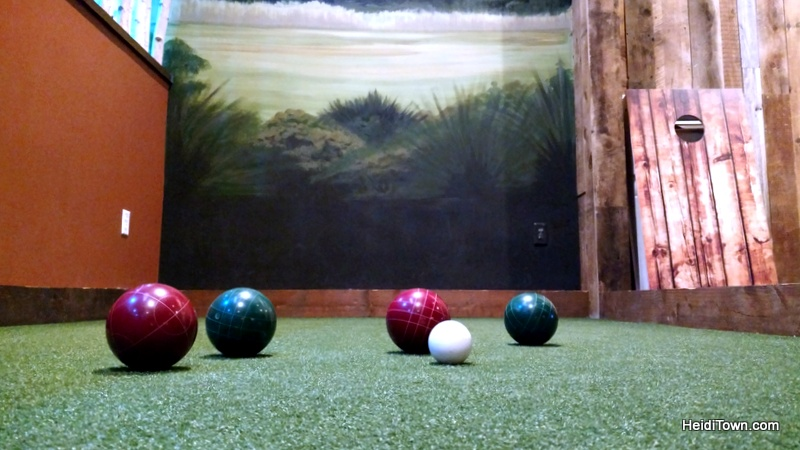 The Wild Game Longmont, not just for kids. bocce ball. HeidiTown.com