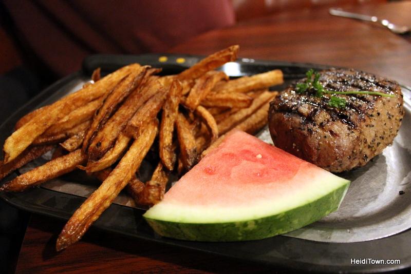 Dining in Colorado Black Steer, Loveland, Colorado. HeidiTown.com