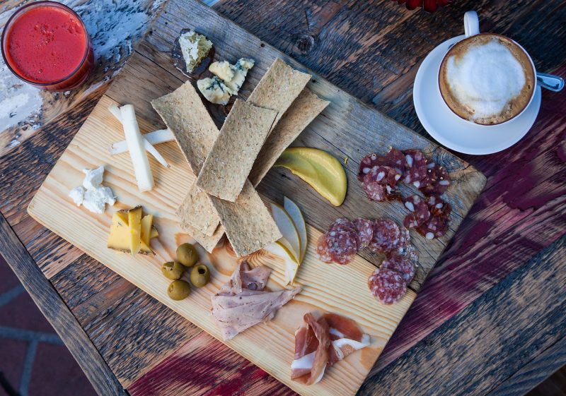 Dining in Colorado, Meat & Cheese, the meat & cheese board. HeidiTown.com