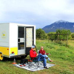 HeidiTown's Ten-Year-Anniversary Ten Things You Didn't Know About HeidiTown. Buttercup the camper at Delicious Orchards
