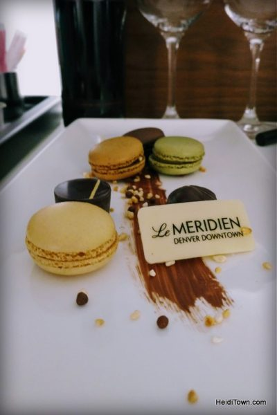A Holiday Date Night in Denver With a Stay at Le Méridien. Room amenities. HeidiTown.com