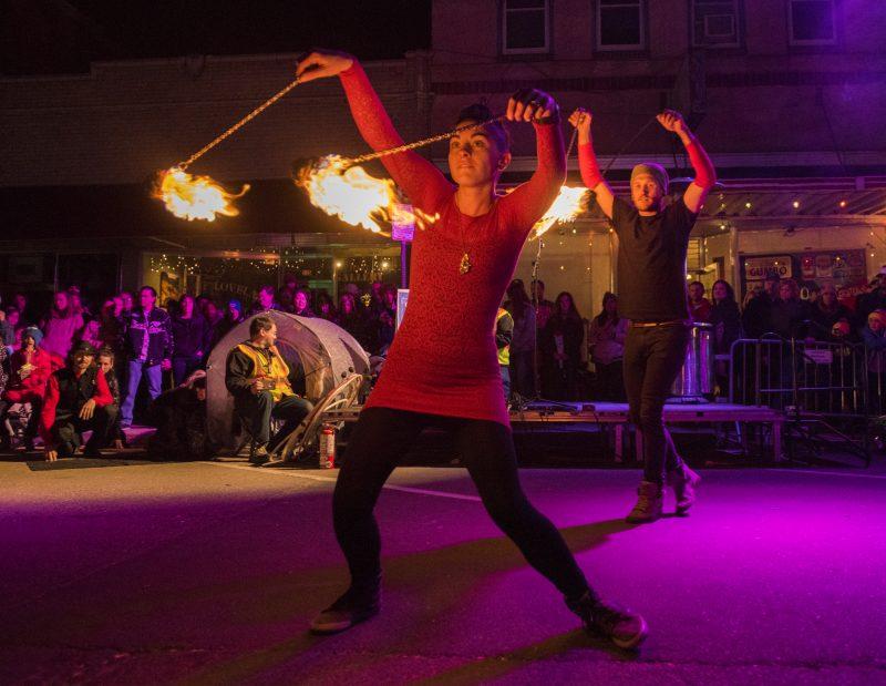 Loveland Fire & Ice Festival, photo courtesy of the festival