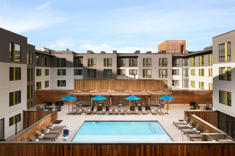 The Birds & the Bees & a Heated Pool at Two New Hotels in Boulder, Colorado.pool deck