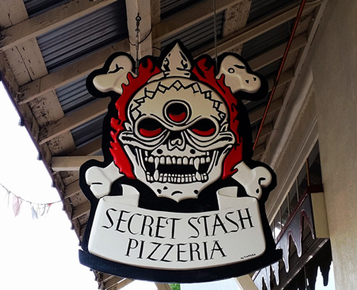 Eat All the Things A Delicious 3-Day Dining Guide to Crested Butte. Secret Stash Sign, Vanessa Richetti