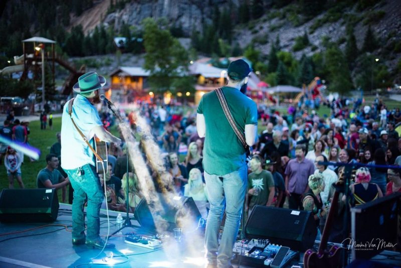 Colorado Mountain Music Festivals Not to Miss This Summer. Ouray_MarkusVanMeterPhotography_MountainAirMusicSeries