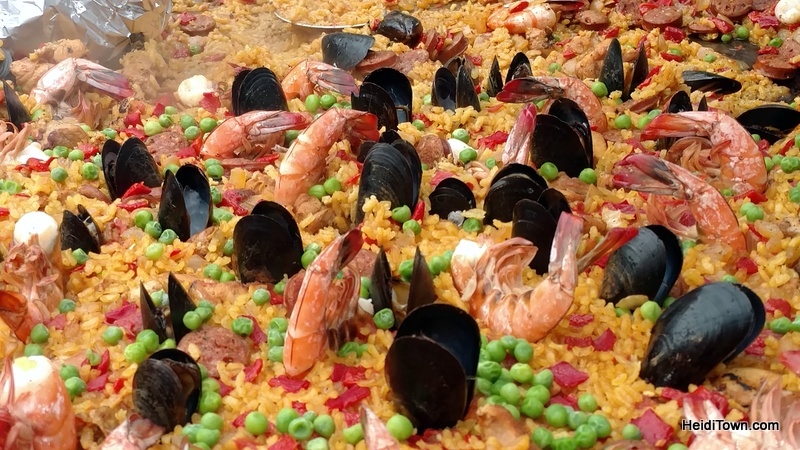 Treat Yourself to Vail, Colorado & the Four Seasons. Spanish paella at Vail Farmers Market. HeidiTown