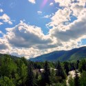 Treat Yourself to Vail, Colorado & the Four Seasons. Thew view from our room's balcony at Four Seasons. HeidiTown