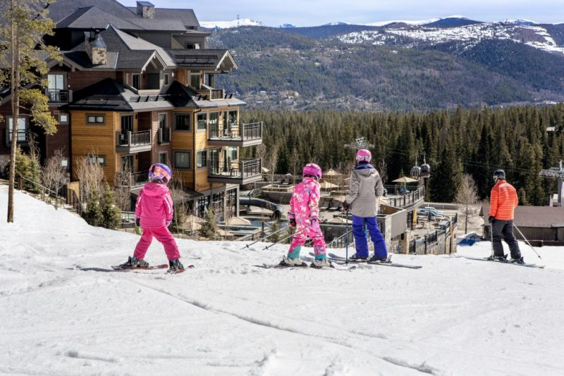 New Things to do in Breckenridge, Part Two, HeidiTown.com , skiing at Grand Colorado on Peak 8
