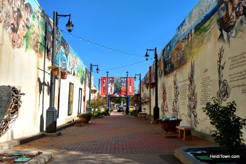 When it Comes to Tacos, Longmont, Colorado is Winning. Downtown Longmont ally art. HeidiTown.com