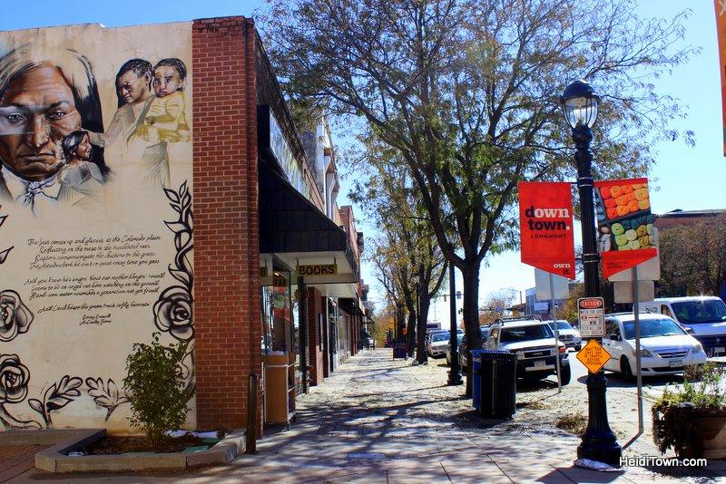When it Comes to Tacos, Longmont, Colorado is Winning. Downtown Longmont sidewalk. HeidiTown.com