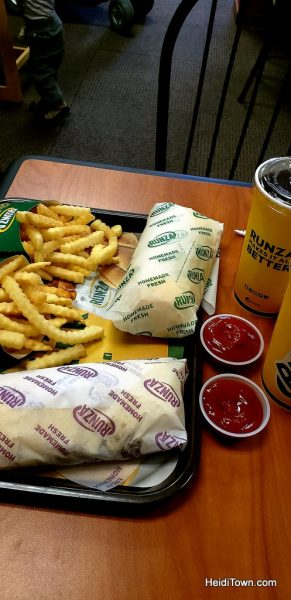 Road Trip Travel How to Find Great Food Along the Way. Runza, Ogallala, Nebraska. HeidiTown.com