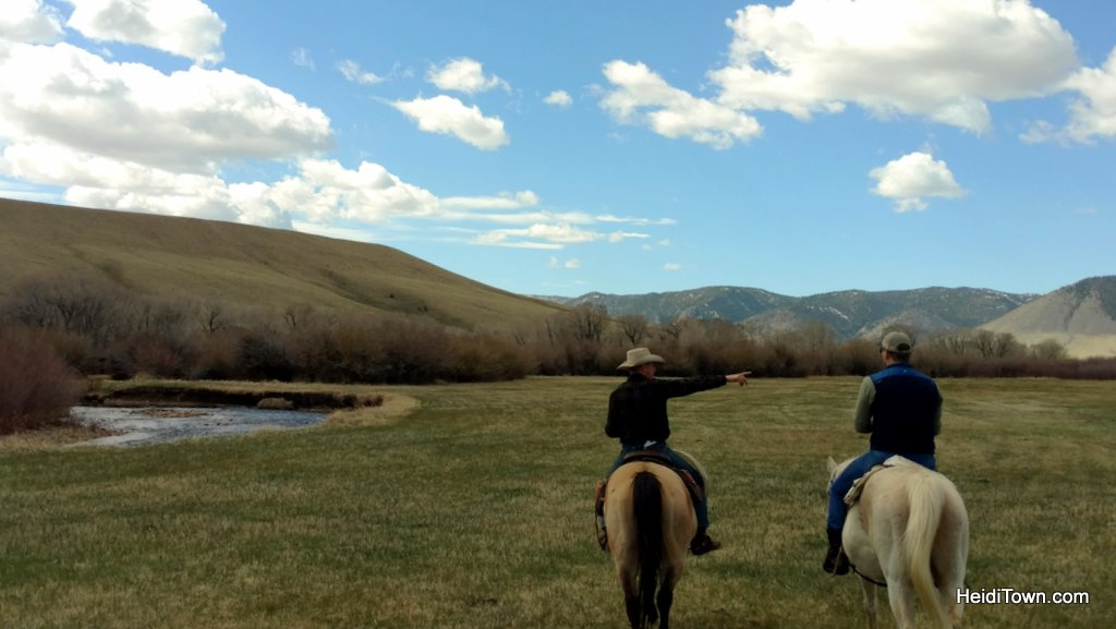 Vee Bar Ranch, photo by Heidi Kerr-Schlaefer