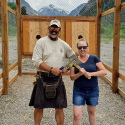Connecting with My Ancestors Throwing Axes in Ouray, Colorado. HeidiTown (3)