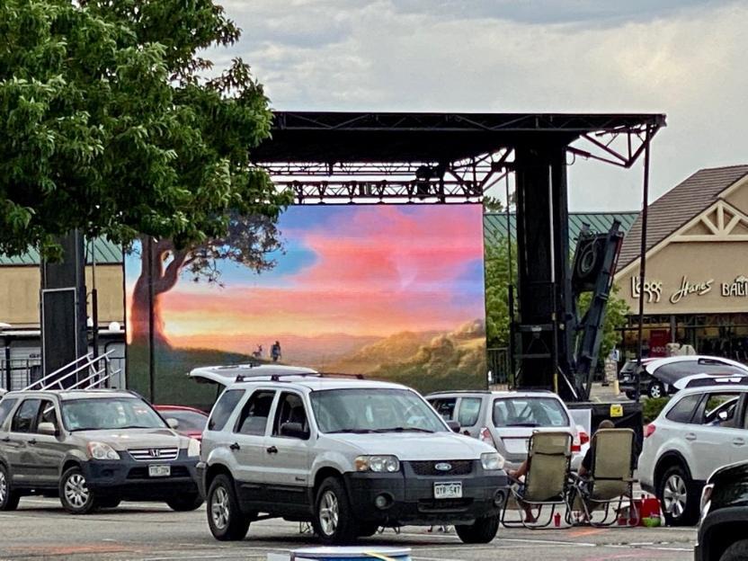 Loveland Drive-In Screen