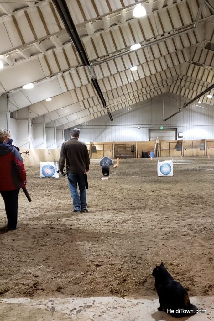 Archery, Ice Fishing & Snoga at Vista Verde Ranch in Colorado. HeidiTown (4)