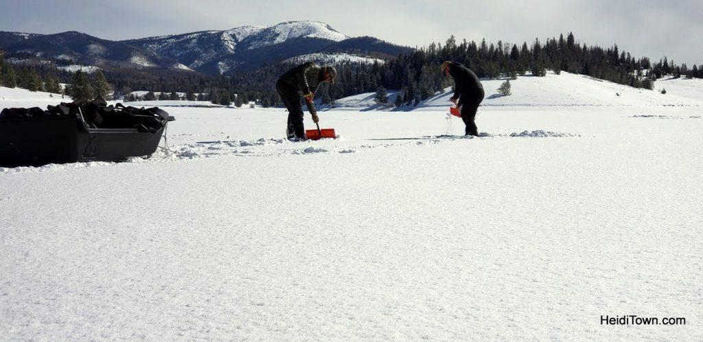 Archery, Ice Fishing & Snoga at Vista Verde Ranch in Colorado. HeidiTown (6)